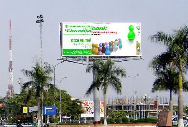 Bảng hiệu trivision trong thiết kế thi công bảng hiệu quảng cáo