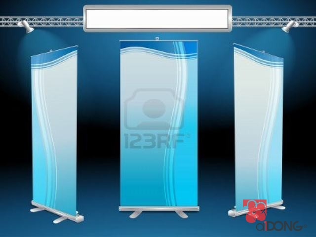 Banner cuốn rollup banner