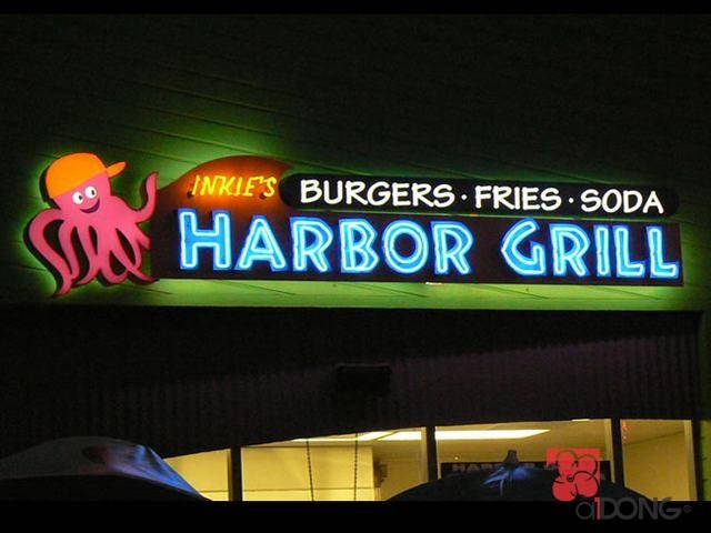 chu-noi-mica-den-neon-sign-harbor-grill