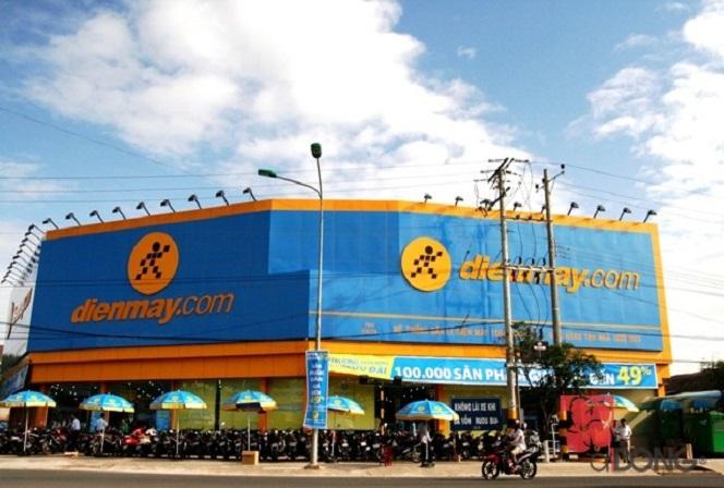 Công trình dienmay.com Vũng Tàu