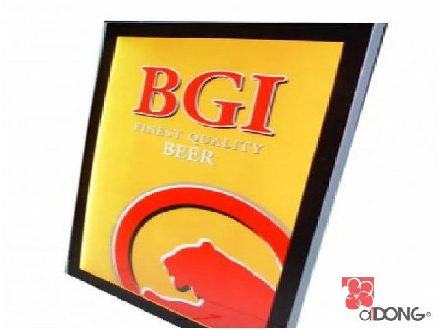 Hộp đèn siêu mỏng bgi beer