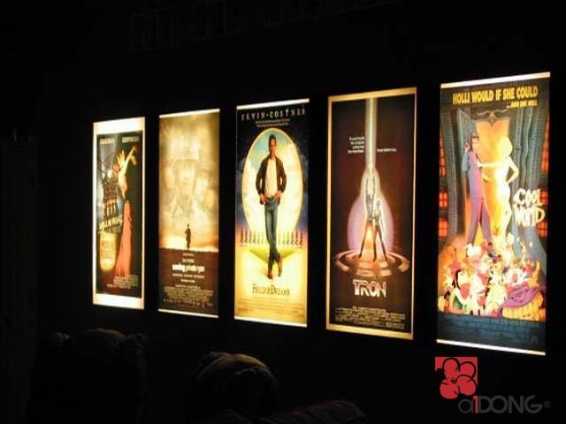 Hộp đèn siêu mỏng cinema