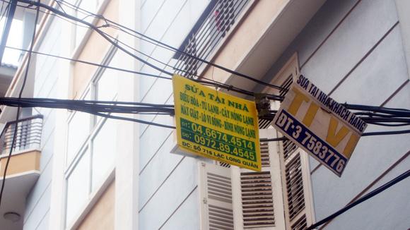 Quảng cáo rao vặt tràn lan gây nhức nhối xã hội